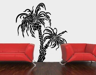 Palms Wall Decal, Floral Decals, sticker, mural