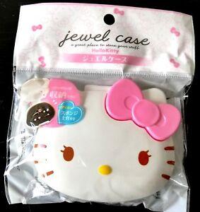 New-SANRIO-Hello-Kitty-Cute-jewel-case-Box-Pink-accessory-with-sponge