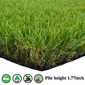 Artificial Grass Rug Synthetic Turf Carpet Mat Garden Lawn For