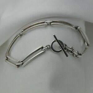 Plain-Solid-925-Sterling-Silver-Minimalist-Design-Toggle-Bracelet-by-Kit-Heath