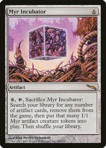 Myr Incubator Mirrodin HEAVILY PLD Artifact Rare MAGIC GATHERING CARD ABUGames