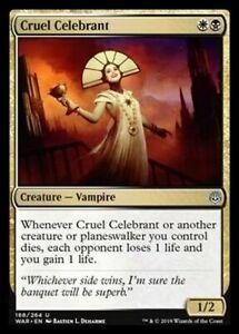 Cruel Celebrant MTG MAGIC WAR Eng 2x Celebrante Crudele