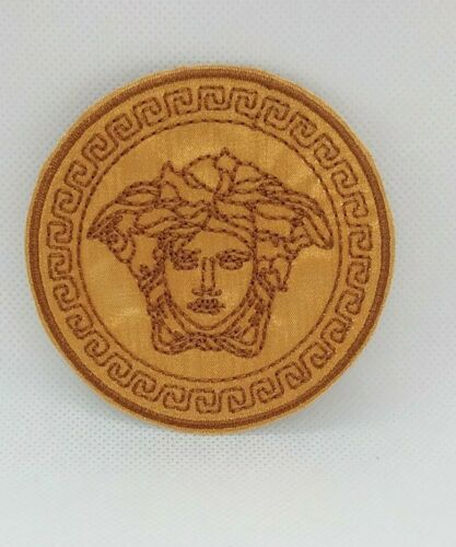 Patch Iron-On Medusa Gorgon Embroidered Applique Patches For Jackets
