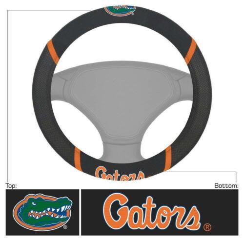 7pc NCAA Florida Gators Car Truck Floor Mats Steering Wheel Cover Headrest Cover