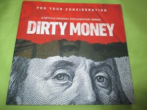 Dirty Money NETFLIX 2018 NEW DVD Documentary Nonfiction SHOW