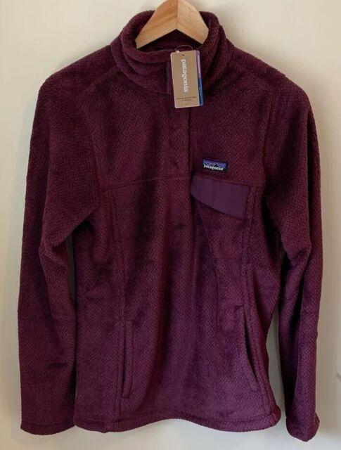 NWT Patagonia Re-Tool Snap-T Fleece Pullover Medium Black Women's Jacket