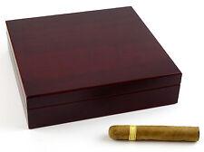 Boveda-Humidor Angelo Cherrywood-Optik ca 20 Zigarren mit Boveda-Befeuchter 69%