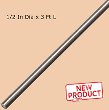 Stainless Steel Solid Round Stock 12 X 3 Feet Length 303 Unpolished Rod New