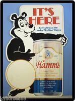 Hamms Beer Bear Advertising Ad Refrigerator Toolbox Magnet