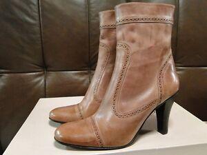 Boots Finished Designer Calf Castro Uk 3100 Gabriela Hand Womens Mid Hand 7 xUqwUF