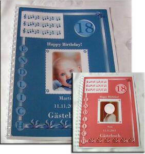 Gaestebuch-18-Geburtstag-Geschenk-Karte-Deko-Volljaehrigkeit-034-Endlich-18-034-Noten