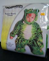 Underwraps Plush Frog Baby Costume 6-12-18 Months