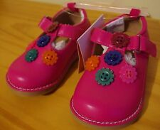 Gymboree Girls Flower Button Shoes NEW US 5 UK 4
