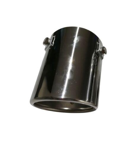 30-65 mm échappement Tubes Universal échappement Embout D/'échappement échappement Sport aspect 70 mm f