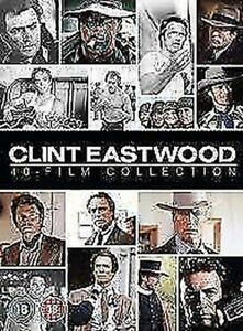 Clint Eastwood Collection (40 Film) DVD Nuovo DVD (1000648319)