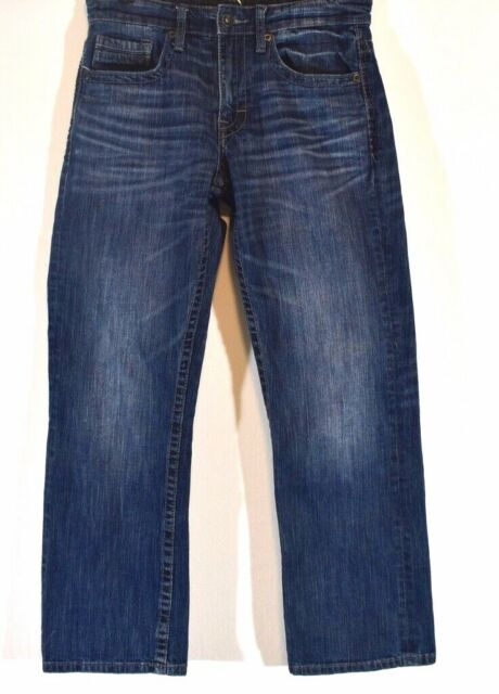 BKE Buckle Jake Size 30X30 30S Bootleg Blue Denim Jeans ...
