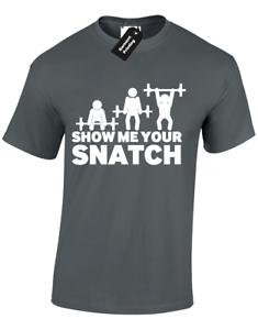 Capable Montrez-moi Votre Gazon Hommes T Shirt Gym Poids Crossfit Lift Bodybuilding S - 5xl-afficher Le Titre D'origine La RéPutation D'Abord