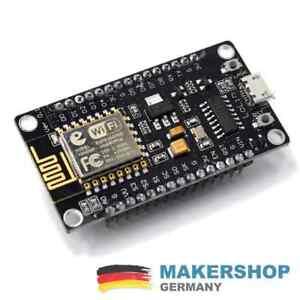 NodeMCU V3.2 Arduino ESP8266 ESP-12 E Lua CH340 WiFI WLan IoT Lolin Mini Micro