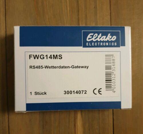 Eltako datos climáticos-Gateway fwg14ms para multi sensor MS series dispositivo de instalación