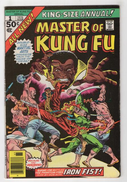 Master of Kung Fu Annual #1 (Apr 1976, Marvel) [Shang-Chi, Iron Fist] Pollard X