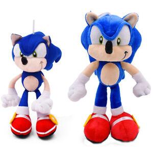 Sonic Plush Toys Doll 28cm Shadow Cartoon Blue Plush Soft Stuffed Toy Kids Gifts Ebay