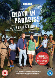 Death-in-Paradise-Series-Eight-DVD-2019-Ardal-O-039-Hanlon-cert-12-3-discs