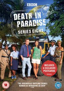Death-in-Paradise-Series-Eight-DVD-2019-Ardal-O-039-Hanlon-cert-12-3-discs