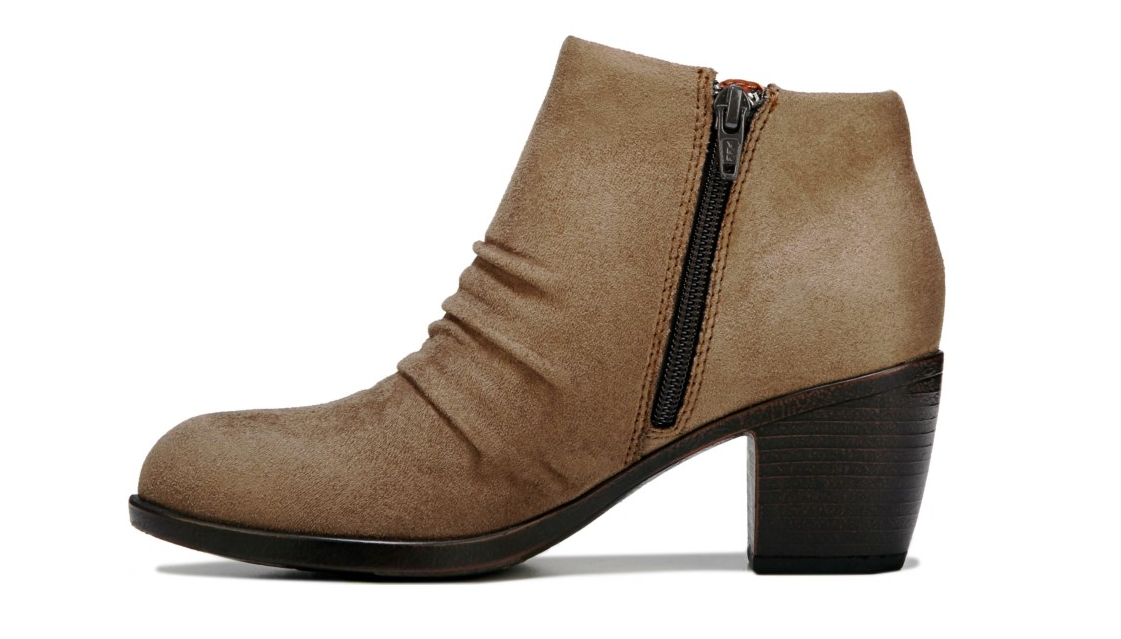 NEW BORN B.O.C LORELEI TAUPE ANKLE Stiefel STACKED WOMEN 9.5 Z37017 BOOTIES STACKED Stiefel HEEL ab9c46