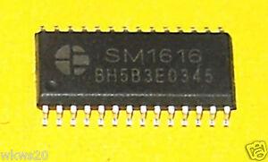 2pcs-I2C-8x16-LED-matrix-LED-drivers-arduino-SM1616-STP16CP0-TLC5926-SM16126D