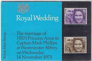 GB-Presentation-Pack-56-1973-Royal-Wedding