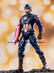 "CAPITAN America Avengers Leggende Marvel EROI DEI FUMETTI Action Figure 7"" NUOVO Toys"