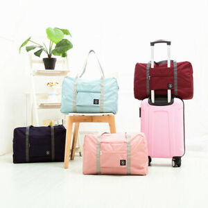 Foldable-Large-Duffel-Bag-Luggage-Storage-Bag-Waterproof-Travel-Pouch-Tote-Bag-U