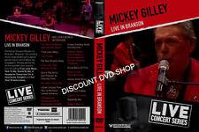 MICKEY GILLEY LIVE IN BRANSON. NEW DVD