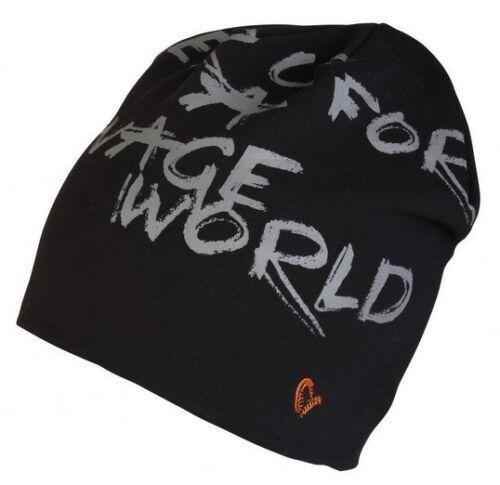 Savage Gear World Beanie Black Mütze Angelmütze Wintermütze Angelbekleidung