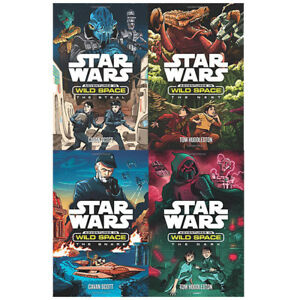 Star-Wars-Adventures-in-Wild-Space-Collection-4-Books-Set-The-Dark-The-Snare-New