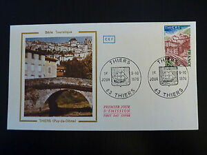 Adaptable France Premier Jour Fdc Yvert 1904 Thiers 1,70f Thiers 1976