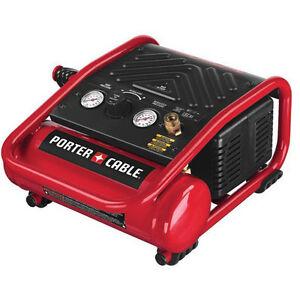 Porter-Cable-135-PSI-1-Gal-Oil-Free-Quiet-Trim-Compressor-C1010-NEW