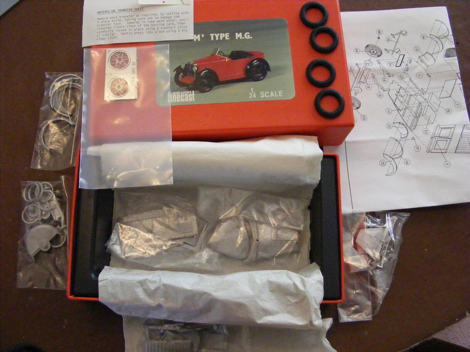 MG M Type Sports Car 1928 - 1 24 White Metal Kit
