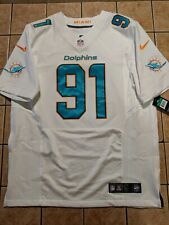 outlet store 5720f 90f69 Cameron Wake Miami Dolphins Nike Limited White Jersey ...