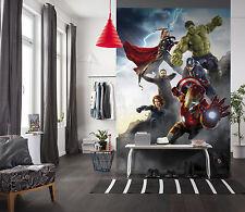 Paper wallpaper 184x254cm Marvel Comics heroes wall mural Hulk - childrens room