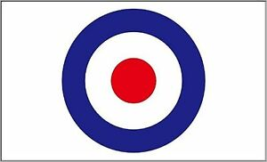 Target Roundel Flag Banner Decoration MOD Paint Ball Roundel Mods Shooting Club