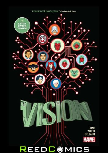 488 Pages VISION HARDCOVER more #1-12 2015 New Hardback Collects Vision
