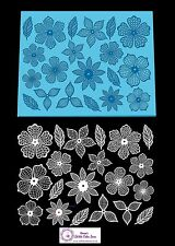 Cake Lace Mat - 3D Floral Fantasy  - Ideal Cakes and Cupcakes Craft
