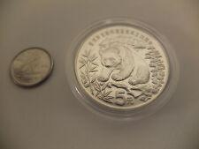 China 1986 Panda Silver 5 Yuan for World Wildlife Fund WWF - Beautiful Coin SALE