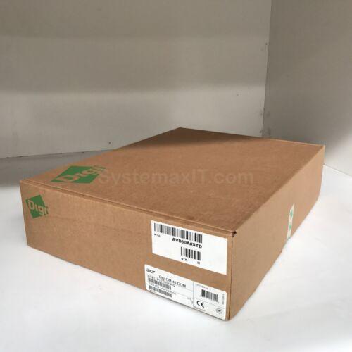 Digi CM 48-Port RS-232 1U Console Server 70001949 !Brand New!