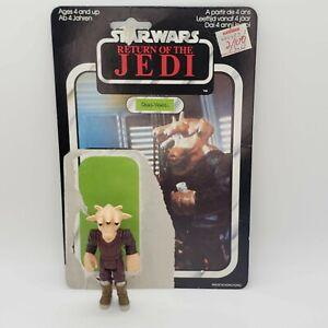 Vintage-1983-Star-Wars-ROTJ-REE-YEES-Action-Figure-with-Original-Cardback