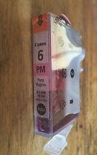 Canon BCi 6 PM photo magenta ink PIXMA ip4000 R ip5000 ip6000D ip8500 printer