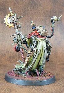Tech-Priest-Dominus-Adeptus-Mechanicus-Painted-Warhammer-40k-CP