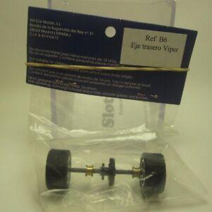 Eje-trasero-completo-para-Viper-Fly-Car-Model-1-32-slot-car-rear-axle-Viper-B6