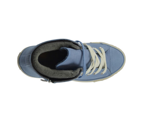 bleu Pc chaussures en Mid Zip baskets Aspen Ct Bleu jean Side Converse Z8q6pHPW